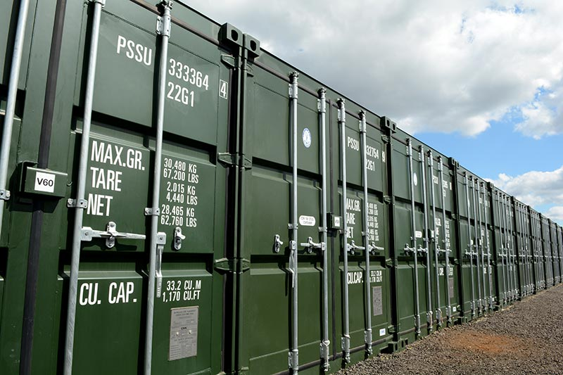 Container storage & Benu0027s Storage Solutions | Secure Self Storage Units in the South East